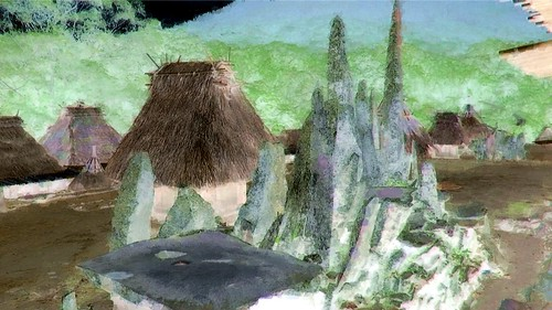 Indonesia - Flores - Traditional Village Bena - Stone Age Megaliths