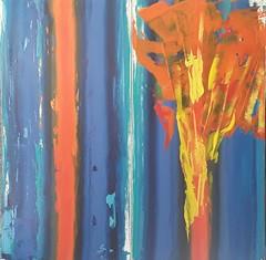 the spring flower (Peter Wachtmeister) Tags: artbrut artinformel modernart abstrakt abstract acrylicpaint popart surrealism surrealismus hanspeterwachtmeister