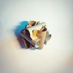 """Rohre"" (ale_beber_origami) Tags: origami modular cube curve"
