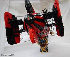 Lady McZep (Utanapishtim) Tags: lego steampunk dieselpunk skyfi skypirates airship zeppelin