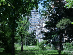 Having a walk around the outskirts of Belgrade!
