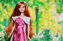 Giselle disney doll (Lindi Dragon) Tags: doll disney disneyprincess giselle mattel red pink