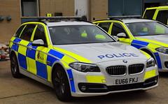 Essex Police   BMW 530D   Roads Policing Unit   QT12   EU66 FKJ (Chris' 999 Pics) Tags: essex police traffic car rpu roads policing unit anpr emergency response vehicle 999 112 protect protection law enforcement bmw 530d 5 series eu66fkj