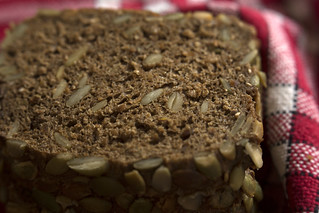 Dark Bread with Pumpkin Seeds - HMM!