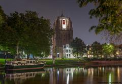 Oldehove at Night Leeuwarden