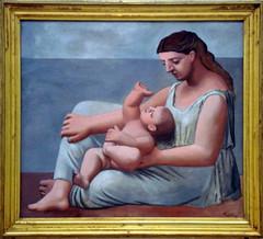 Mother and Child - Pablo Picasso (alplatt) Tags: artinstitute chicago artinstituteofchicago chicagoartinstitute art institute framed museum