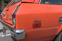 1974 Chevy Vega GT (faasdant) Tags: untouchable car show kalama washington wa usa 2017 1974 chevy chevrolet vega gt kammback 2door station wagon orange hot rod