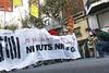 2014.10.19 #NiMutsNiGabia_6 (Bru Aguiló) Tags: nimutsnialagàbia esplugues barcelona placaufec protesta especulación manifestación mossosdesquadra represión derechoshumanos