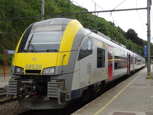 Dinant: Train to Brussels