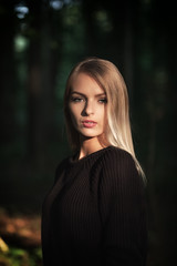Natalia (MartinFechtner-Photography) Tags: portrait face girl youth forest wald ruhrpott ruhrgebiet xt2 fujifilm canon fd100mm f28 vintage lense legacy availablelight licht sonne sun