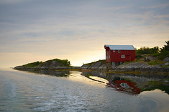 Brygga (the seahouse) at Langøy, Dønna, Northern Norway (leffi333) Tags: dønna helgeland norway