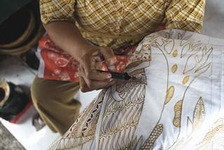 Indonesian batik...