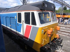 50017 'Royal Oak' from the cab of 50026 'Indomitable' (duffpete) Tags: 2ndseptember2017 oldoakcommon class50 networksoutheast 50017royaloak 50026indomitable englishelectric type4 hoover