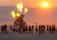 Burning Man 2017 (Eric Zumstein) Tags: burningman fire art playa people festival bike dust