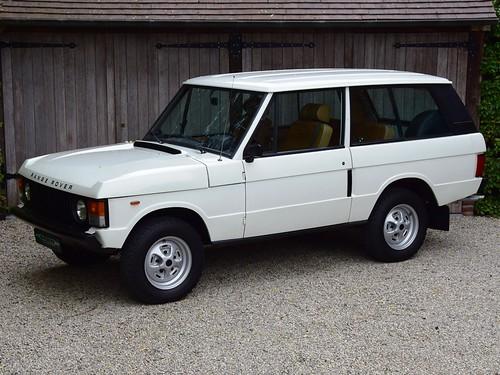 "Range Rover 3-drs ""Suffix G"" (1979)."