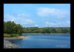 Quabbin View (Peter Camyre) Tags: peter camyre photography quabbin reservoir view scene water canon trees sky color colors colorful beauty nature landscape beautiful pretty ef70200mmf28lisiiusm laborday holiday monday september 4 2017