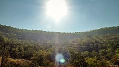 Budni Ghats ! (Vijesh Kannan) Tags: ghats mountain indianrailways budni itarsi tamilanduexpress sunrays landscape