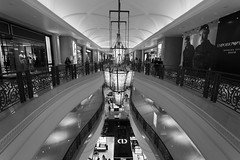Shopping Mall in Macau 2 (IseeCanonshoots) Tags: asia black white canon 1740 architecture bw indoor photography lines design fashion fancy stunning macau little venice venetian lights highlight lowlight travel holiday shopping