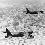 B52 bombers Dropping Bombs in Vietnam, 1966 thumbnail