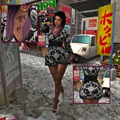 Blossom Kimono Redux (Maria Charisma) Tags: avatar beautiful blog blogger cheeky clothes clothing fashion fashionblog maitreya mesh meshbody new outfit photo sl secondlife woman kawaii japan otaku