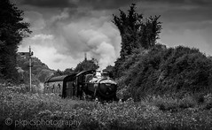 Foxcote Manor (PKpics1) Tags: steam train engine signal railway