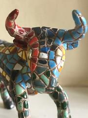 The bull (jadepike4) Tags: ceramic taurus colourfull lastminute bull zodiac macromondays