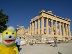 Swami at the Acropolis - Athens, Greece (ashabot) Tags: athens greece
