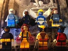 The X-Men (David$19) Tags: lego legomarvel legoxmen xmen wolverine cyclops jeangrey nightcrawler iceman storm angel shadowcat