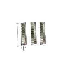 3-PACK-STAINLESS-STEEL-HEAT-SHIELD-FOR-VIKING-VGBQ300T-VGBQ410T-VGBQ412T-GAS-MODELS (grillpartszone) Tags: stainless steel heat shield viking bbq gas grill replacement parts