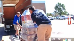 Hollander Storage and Moving, Triton College, Hurricane Relief Drive, Channel 5 News, NBC, Chicago, 9/18/2017, (Picture Proof Autographs) Tags: hollanderstorageandmoving hollanderinternational tritoncollege hurricanereliefdrive channel5news chicago nbc fred weichmann frederick robwendland billherbold pattifairman unitedvanlines hollander chairity vanlines mayflowervanlines unitedway united mayflower moving allied alliedvanlines trucks semi truck international storage record van lines