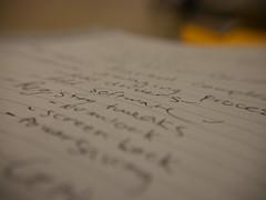 Software (domruggeri) Tags: macro macrodreams text notebook handwriting writing software