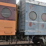 Milwaukee Road Coach 621, ex-516 - 3/4 End View thumbnail