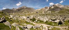 De l'Orgère (1935m) au Col Chavière (2796m) (trekmaniac-is-back) Tags: alpes ete2017 france j1 pano refugeorgèrerefugepécletpolset tourdesglaciersdelavanoise