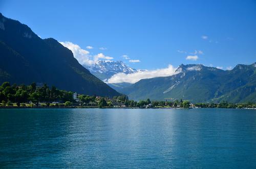 Lake Geneva and Dents du Midi