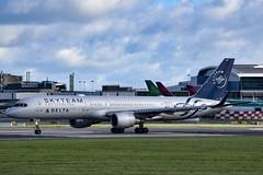 N717TW         B757-231        Delta Airlines Sky Team Livery (Gormanston spotter) Tags: b757 dub eidw avgeek gormanstonspotter deltaairlinesskyteamlivery b757231 deltaairlines skyteamlivery n717tw