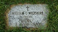 Gravestone - William Charles Wiltshire
