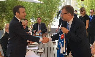 Prime Minister Juha Sipilä met the President of France Emmanuel Macron in Paris on Friday 22 September 2017