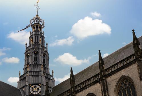 De Grote of. St.Bavokerk te Haarlem