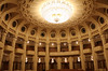 Concert Hall, Palace of the Parliament, Bucharest, Romania, 2017 (travfotos) Tags: concerthall chandelier palaceofparliament palaceoftheparliament bucharest romania
