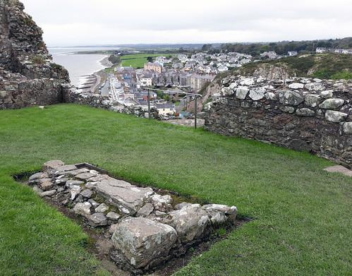 Criccieth castle view