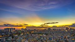 Hoàng hôn Sài Gòn (daihocsi [(+84) 918.255.567]) Tags: saigon sunset hoànghôn