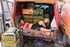 Street Photography Snooze Real People Market Worker at Navtlughi Bazaar   ნავთლუღის ბაზარი (davidsymonds) Tags: streetphotography snooze realpeople marketworkertbilisigeorgiage