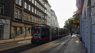 #WienerLinien | 786 Siemens ULF B1 | 43-as villamos | ➜ Neuwaldegg