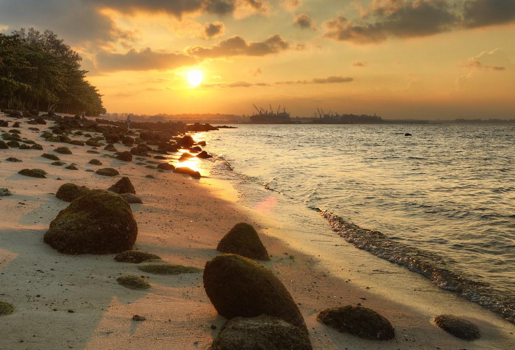 beach hdr stones harmony - photo #8
