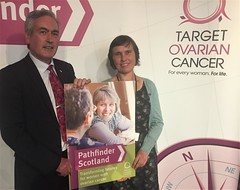 Hosting Target Ovarian Cancer Pathfinder Report launch