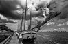 IMG_1276.jpg (brammetje2012) Tags: holland tokinaatx116prodx1116mmf28 monochrome dutch canon100d enkhuizen nederland boat fujineopanacros blackandwhite harbour ship