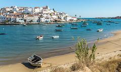 portimao (touflou) Tags: portugal algarve portimao barque océan plage beach bateaux boats