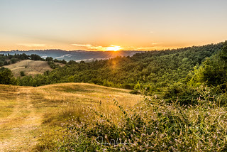 Sunset Tuscany - Italy