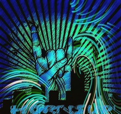 Horns Up Wallpaper (Murciless) Tags: blue graphic wallpapers instacolor artlife artwork instafollow modern instapic instaartist artsy music instadaily creative art screensaver backgrounds igdayly graphicdesign artdirection green prilaga artpop instagood lockscreen artstagram visualdesign instamood hornsup design