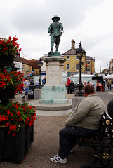 Oliver Cromwell Statue: St Ives Cambridgeshire